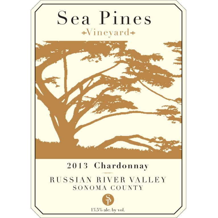 Sea Pines Russian River Chardonnay 2013 Front Label