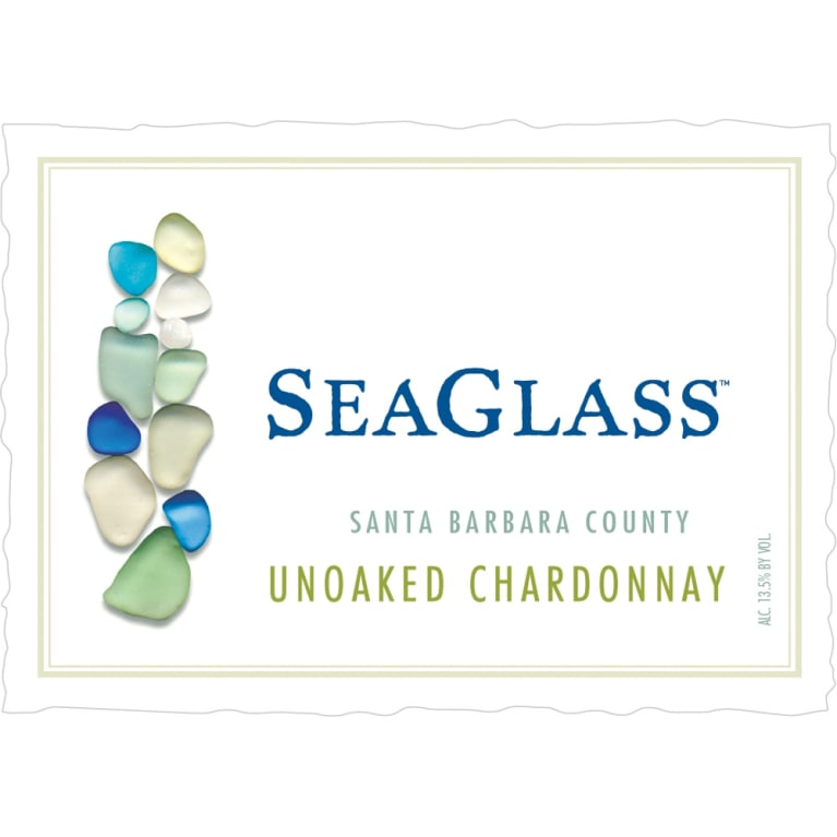 SeaGlass Chardonnay 2013 Front Label