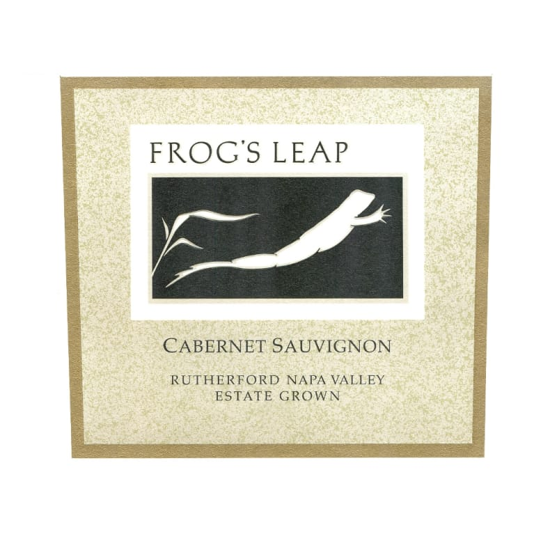 Frog's Leap Estate Grown Cabernet Sauvignon (3 Liter Bottle) 2012 Front Label