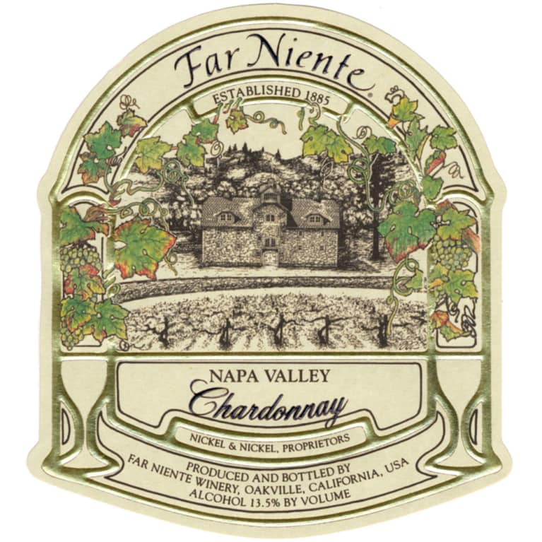 Far Niente Chardonnay 2013 Front Label