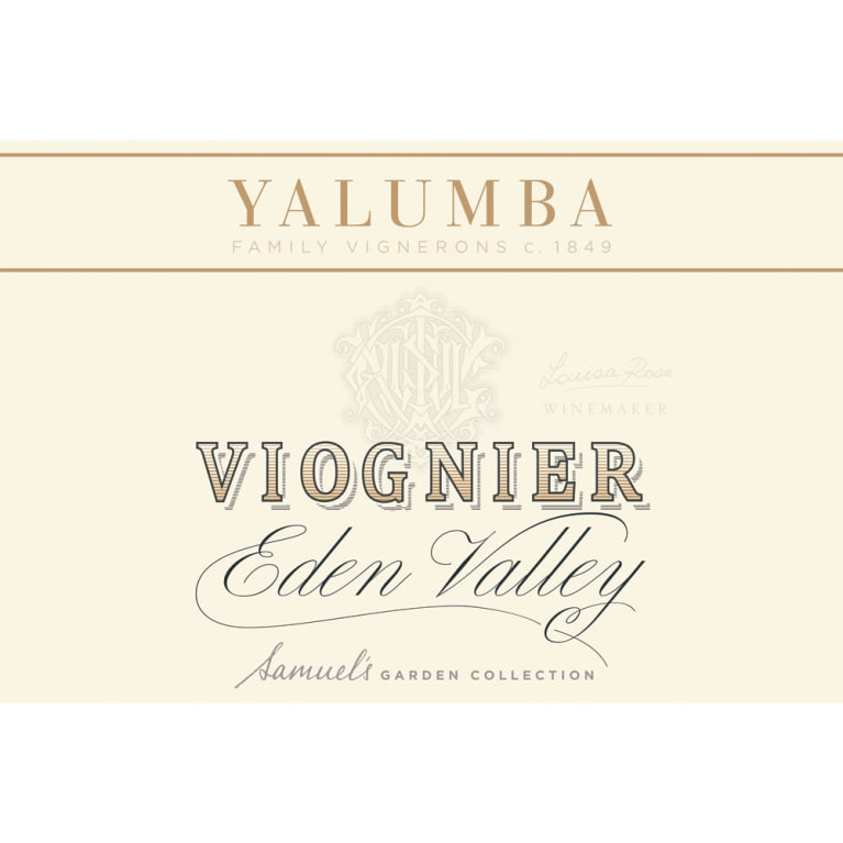Yalumba Eden Valley Viognier 2013 Front Label