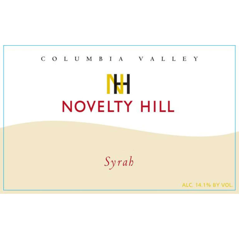 Novelty Hill Syrah 2012 Front Label