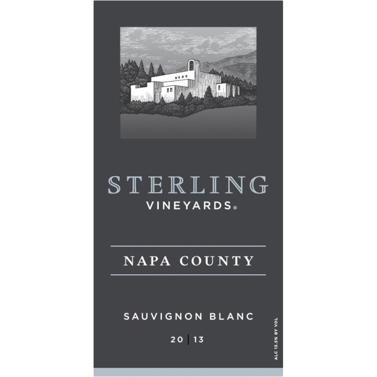Sterling Sauvignon Blanc 2013 Front Label