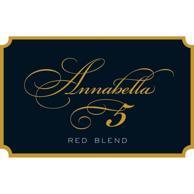 Annabella Red Blend 2011 Front Label