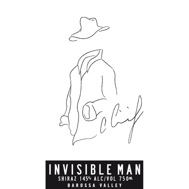 Cimicky Invisible Man Shiraz 2010 Front Label