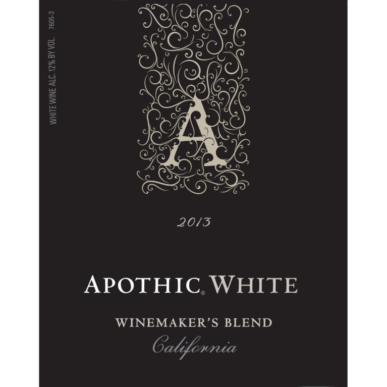 Apothic White Blend 2013 Front Label