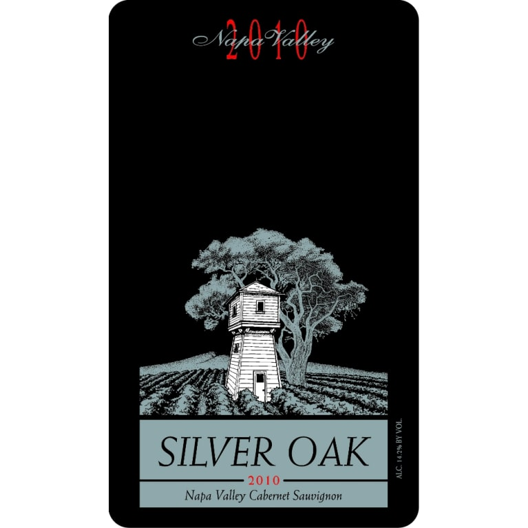 Silver Oak Napa Valley Cabernet Sauvignon 2010 Front Label