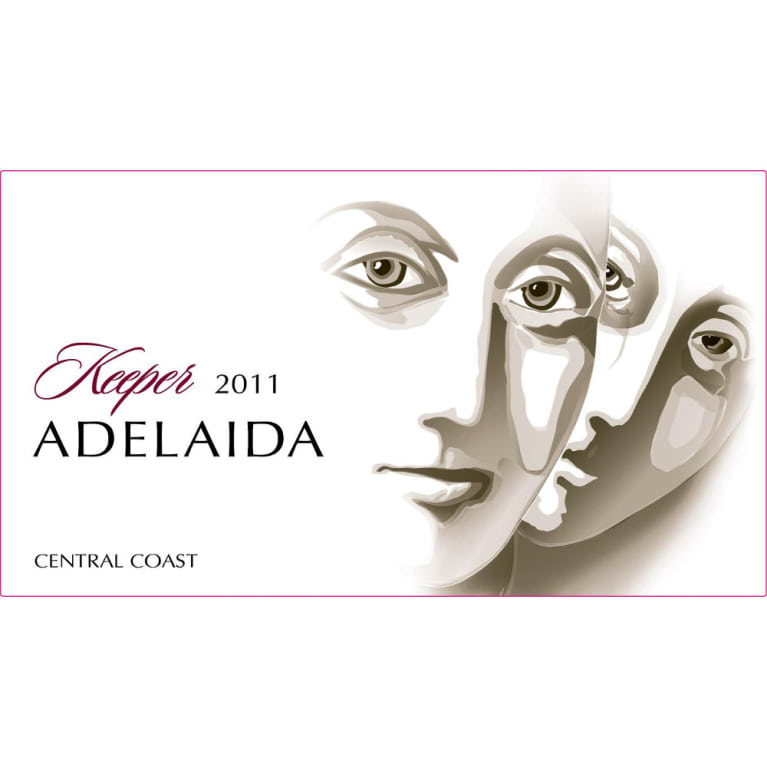 Adelaida Keeper Red 2011 Front Label