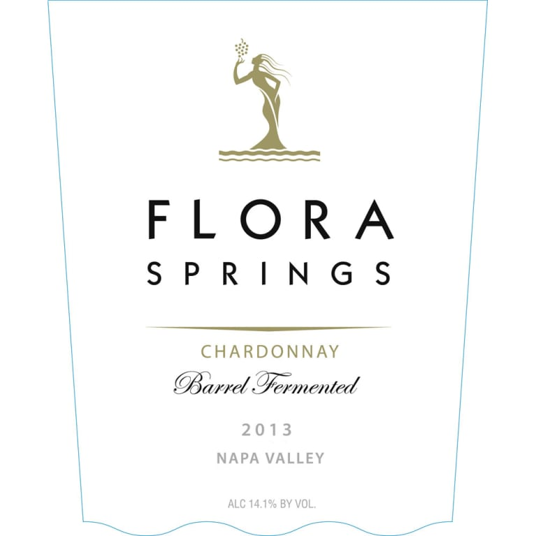 Flora Springs Family Select Chardonnay 2013 Front Label