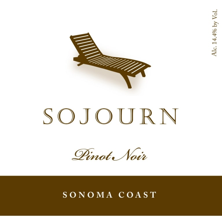 Sojourn Sonoma Coast Pinot Noir 2013 Front Label