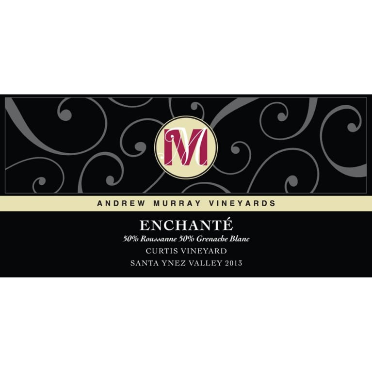 Andrew Murray Enchante 2013 Front Label