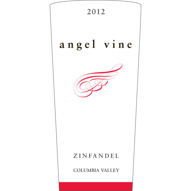Angel Vine Zinfandel 2012 Front Label