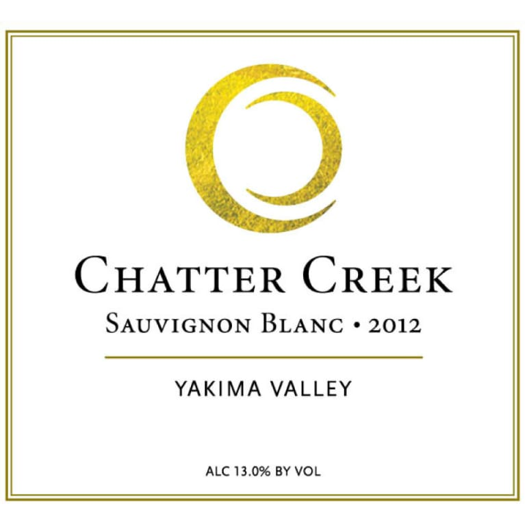 Chatter Creek Sauvignon Blanc 2012 Front Label