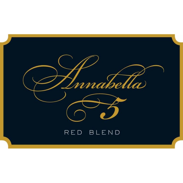 Annabella Red Blend 2012 Front Label