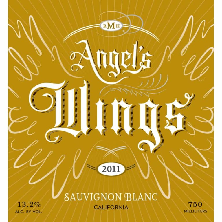 Angel's Wings Sauvignon Blanc 2011 Front Label