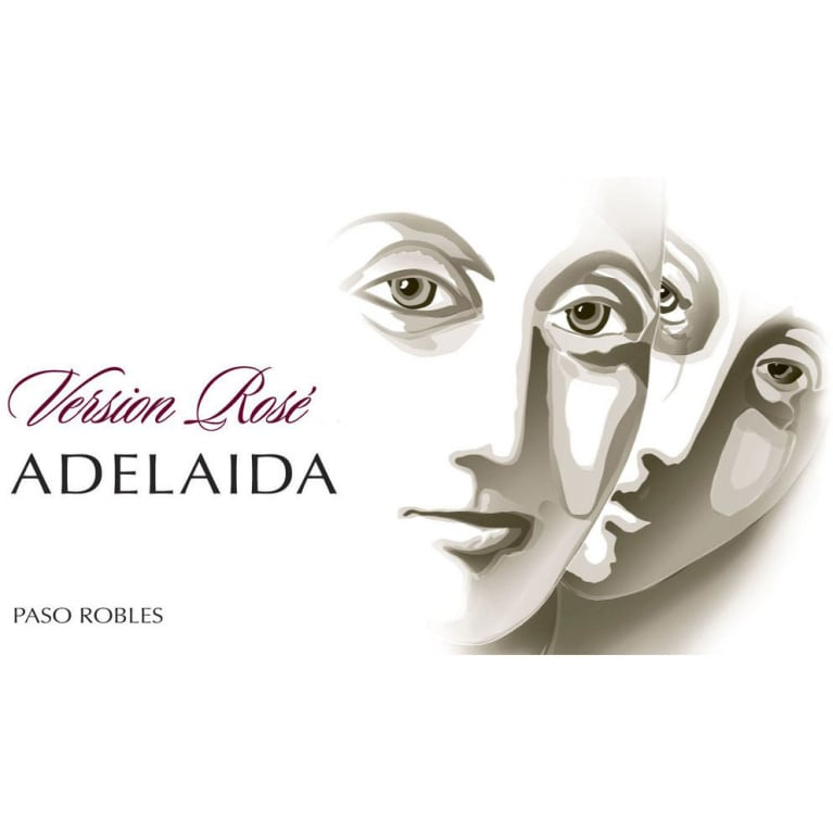 Adelaida Estate Rose 2014 Front Label