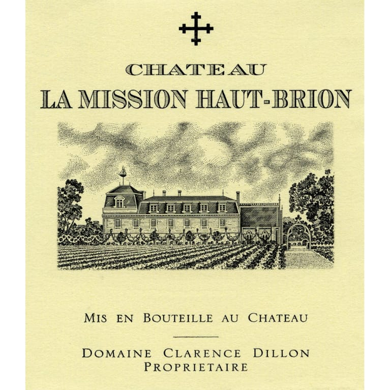 Chateau La Mission Haut-Brion  2012 Front Label