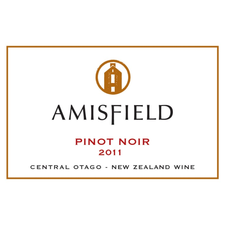 Amisfield Pinot Noir 2011 Front Label