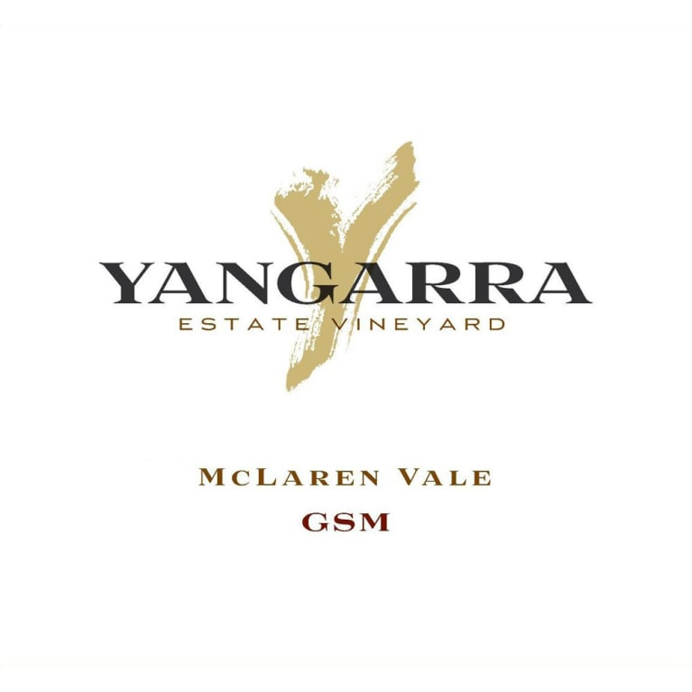Yangarra Estate GSM 2013 Front Label