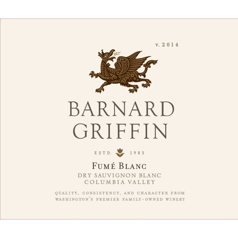 Barnard Griffin Fume Blanc 2014 Front Label