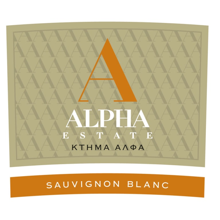 Alpha Estate Sauvignon Blanc 2014 Front Label