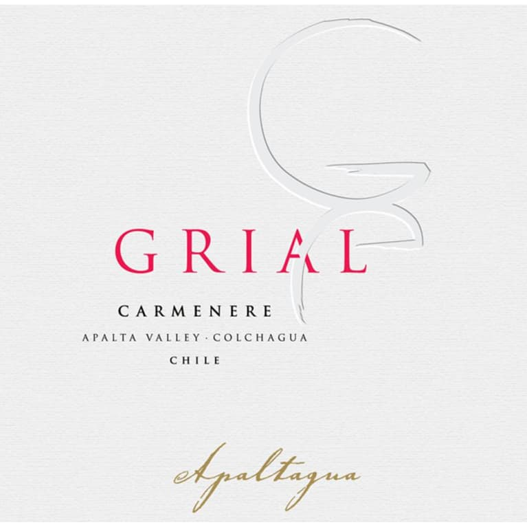Apaltagua Grial Carmenere 2009 Front Label
