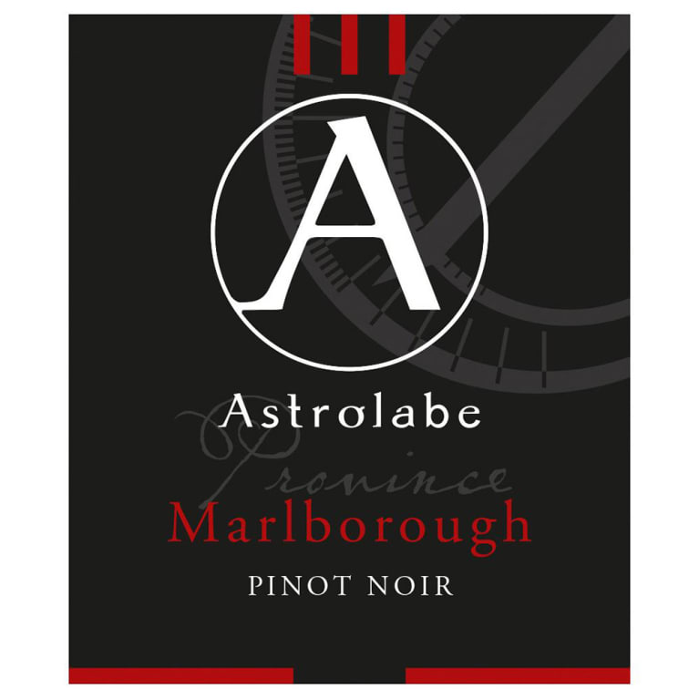 Astrolabe Province Pinot Noir 2013 Front Label