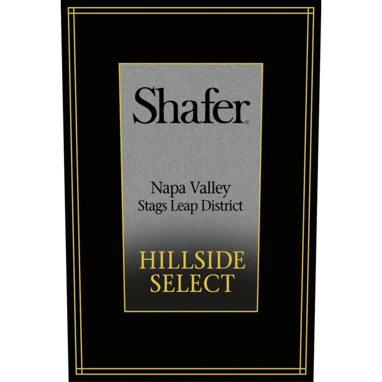 Shafer Hillside Select Cabernet Sauvignon 2011 Front Label