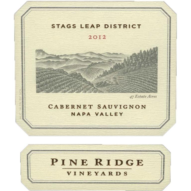Pine Ridge Stags Leap Cabernet Sauvignon 2012 | Wine.com