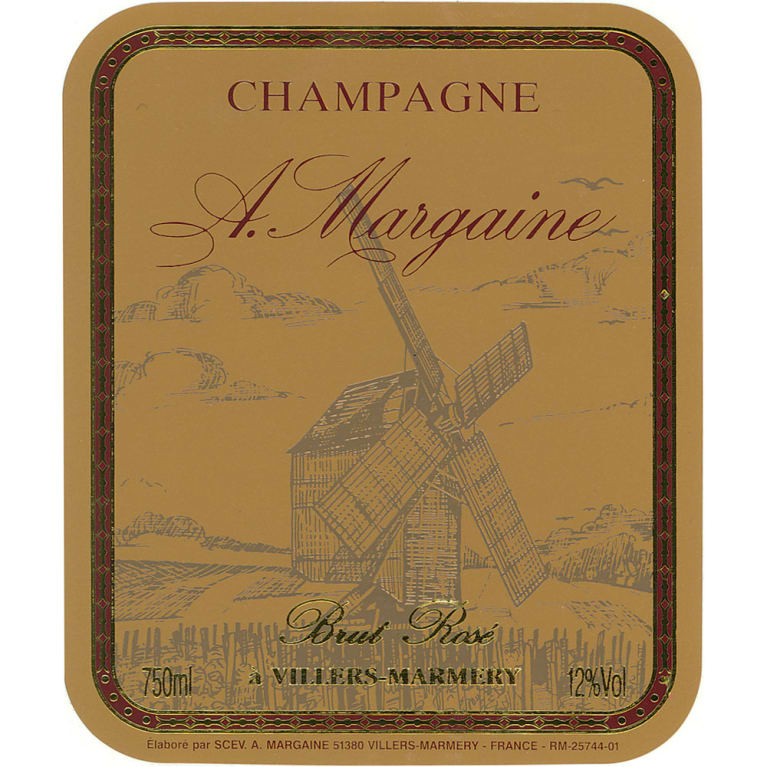 A. Margaine Brut Rose Front Label