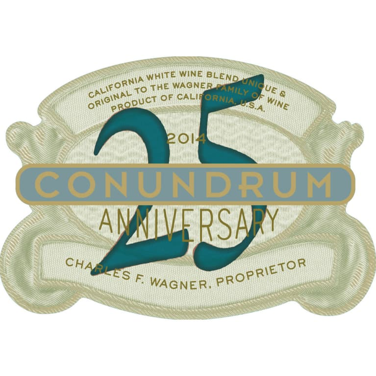 Conundrum White Blend 2014 Front Label