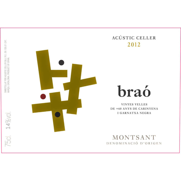 Acustic Celler Brao 2012 Front Label