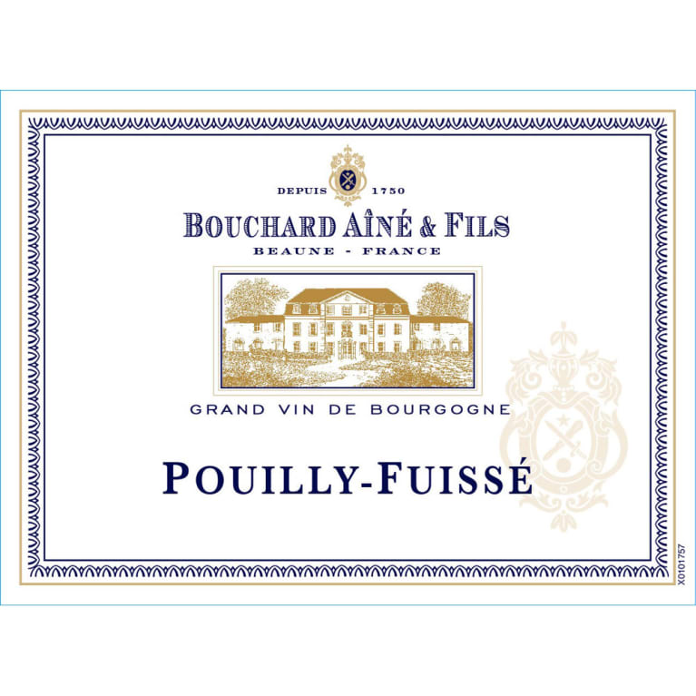 Bouchard Aine & Fils Pouilly-Fuisse 2014 Front Label