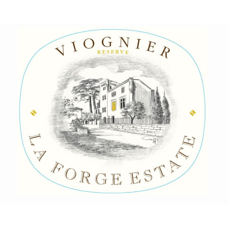 La Forge Estate Viognier 2012 Front Label
