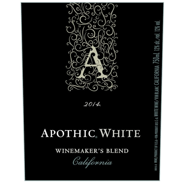 Apothic White Blend 2014 Front Label