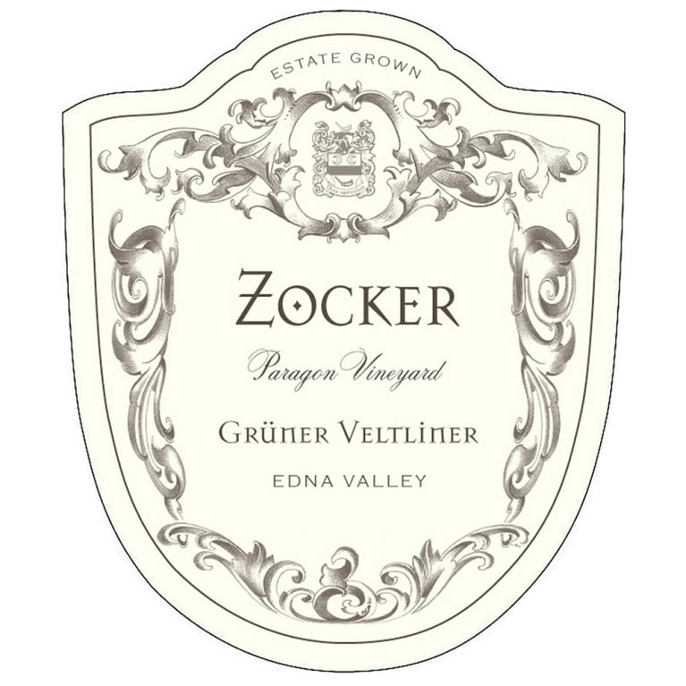 Zocker Paragon Vineyard Gruner Veltliner 2014 Front Label