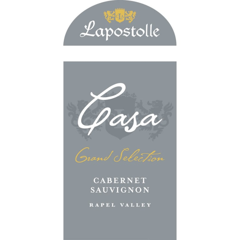 Lapostolle Casa Grand Selection Cabernet Sauvignon 2013 Front Label