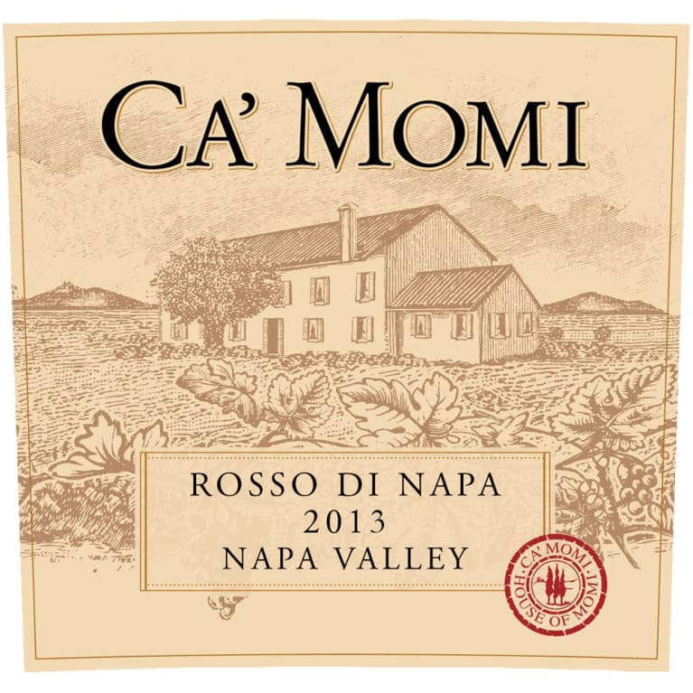 Ca\'Momi Rosso di Ca\' Momi 2013 | Wine.com