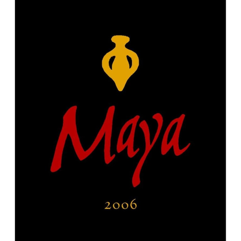 Dalla Valle Maya Proprietary Red Blend 2006 Front Label