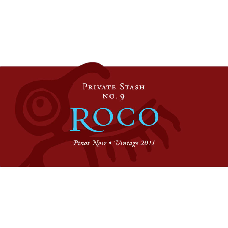 Roco Private Stash Pinot Noir 2011 Front Label