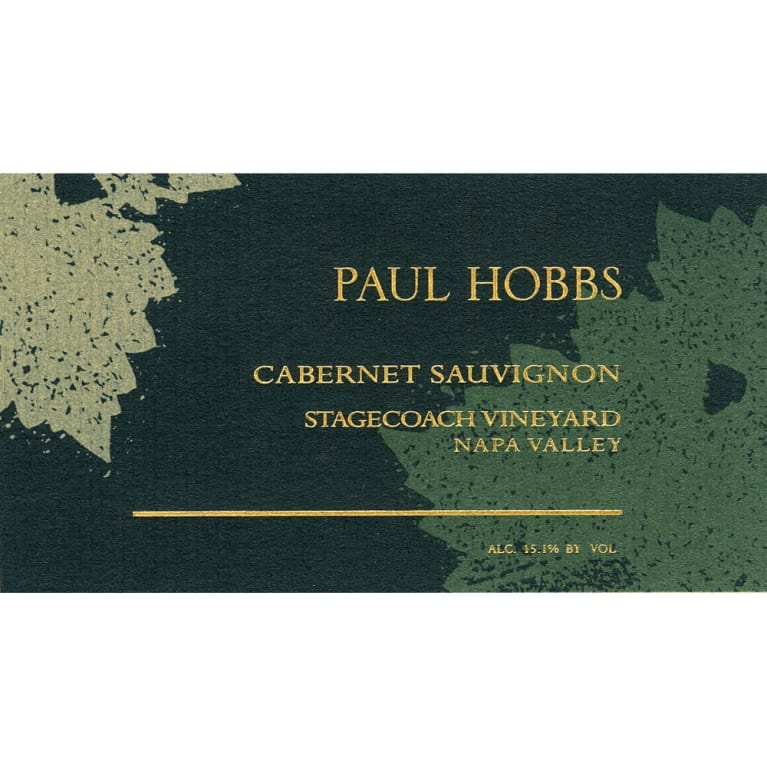 Paul Hobbs Stagecoach Vineyard Cabernet Sauvignon 2004 Front Label