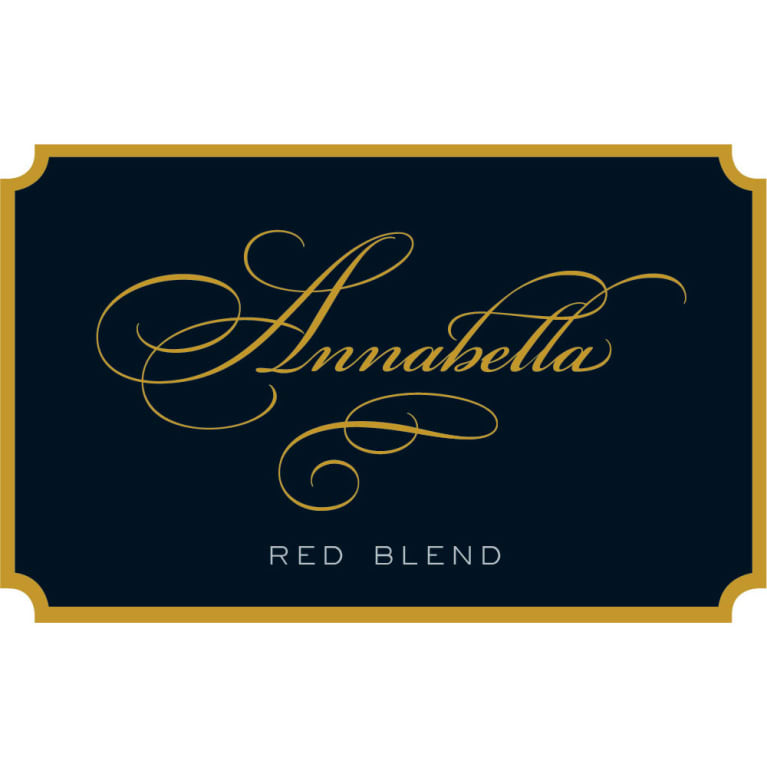 Annabella Red Blend 2013 Front Label