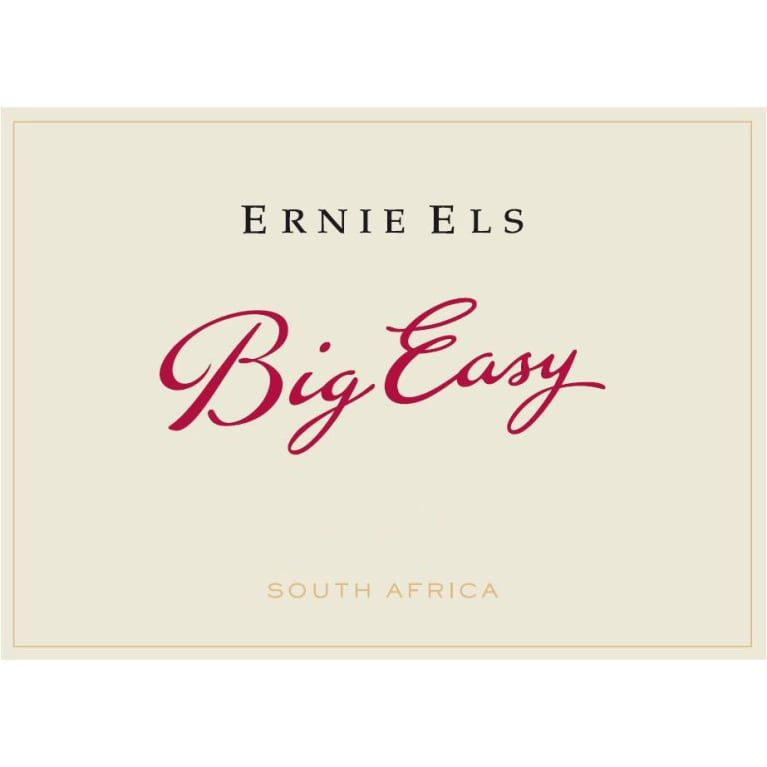Ernie Els Big Easy Red Blend 2014 Front Label