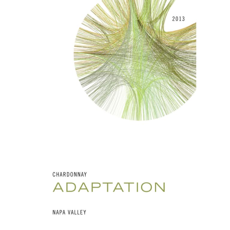 Adaptation by Odette Chardonnay 2013 Front Label
