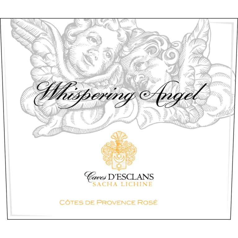 Chateau d'Esclans Whispering Angel Rose 2015 Front Label