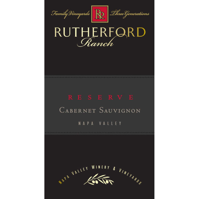Rutherford Ranch Reserve Cabernet Sauvignon 2006 Front Label