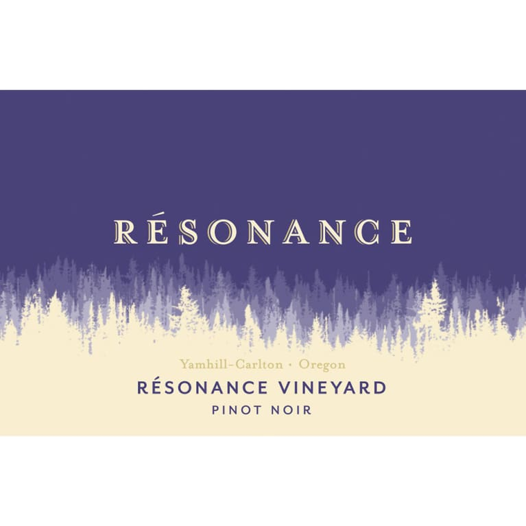Resonance Resonance Vineyard Pinot Noir 2013 Front Label