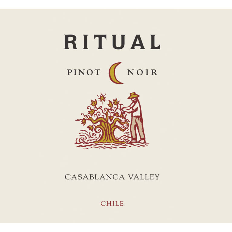 Ritual Casablanca Valley Pinot Noir 2015 Front Label