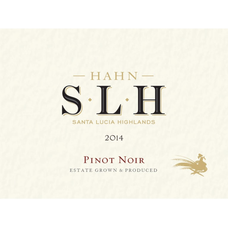 Hahn SLH Pinot Noir 2014 Front Label