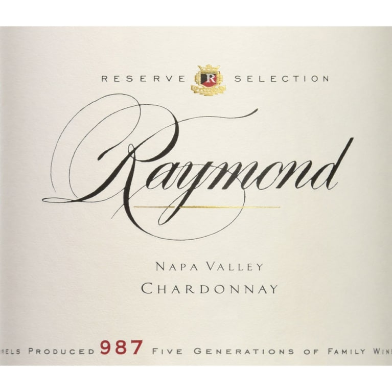 Raymond Reserve Selection Chardonnay 2014 Front Label